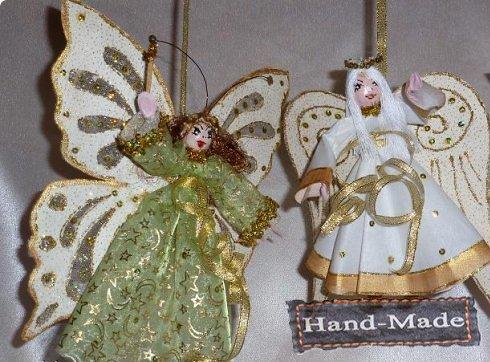 Как сделать новогодние банты своими руками