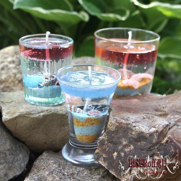 Как сделать самому свечку в стакане