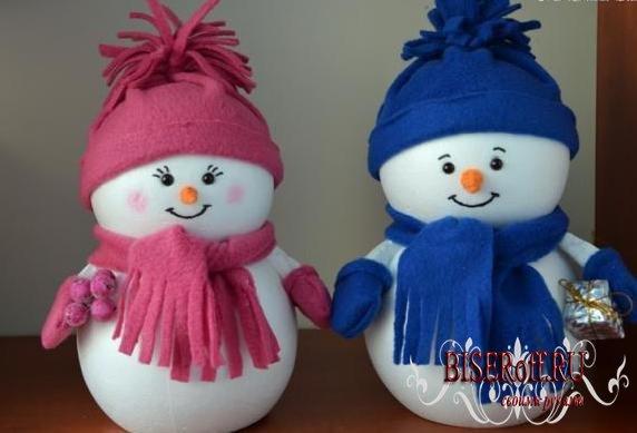 Новогодние поделки для детей своими руками видео