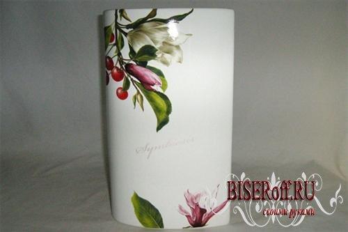 Роспись на вазах своими руками 124