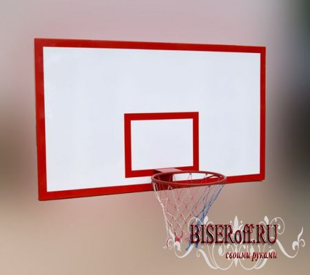 Щит для игры в баскетбол в домашних условиях